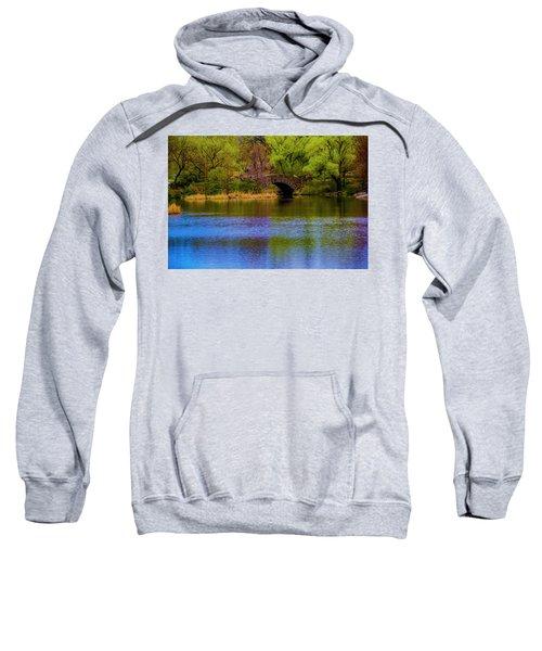 Bridge In Central Park Sweatshirt