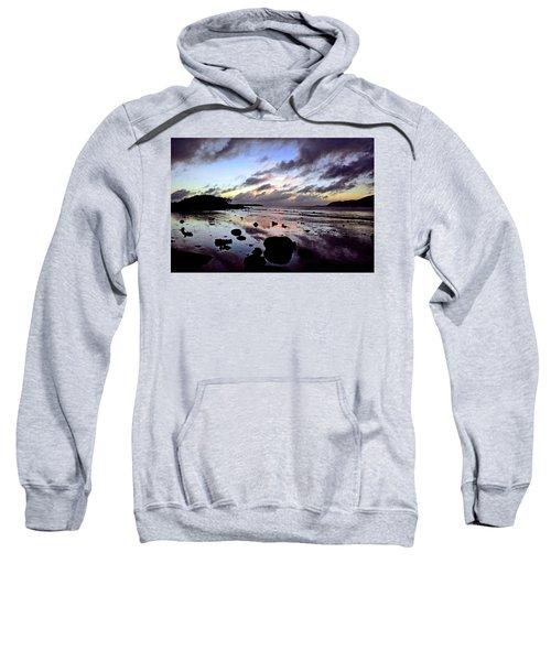 Bright Mirror Of Sunset Light Sweatshirt