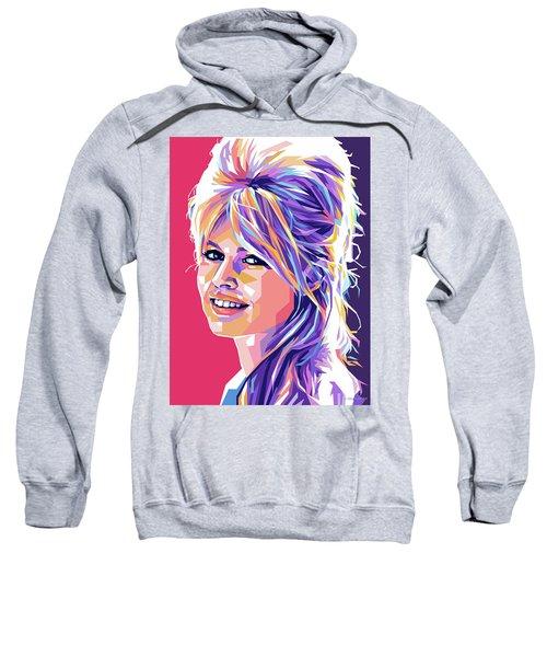 Brigitte Bardot Pop Art Sweatshirt