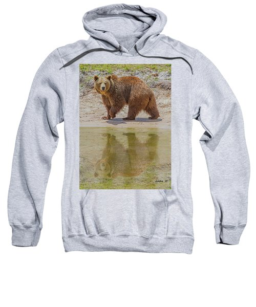 Brown Bear Reflection Sweatshirt