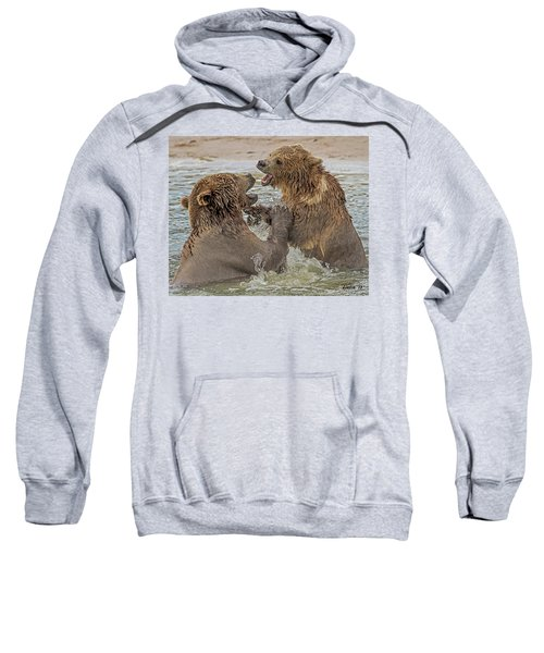 Brown Bears Fighting Sweatshirt