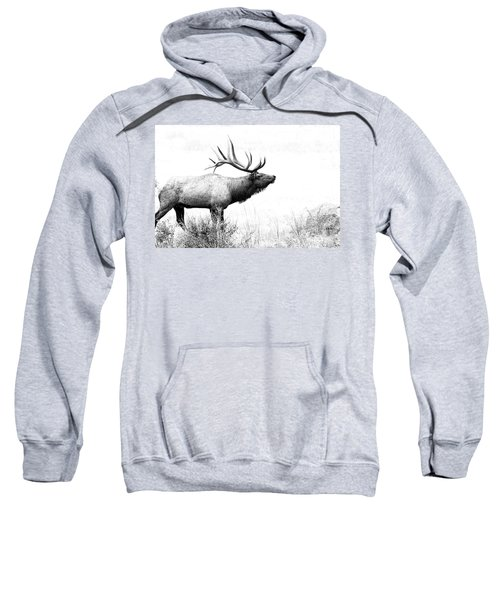 Bull Elk In Rut Sweatshirt