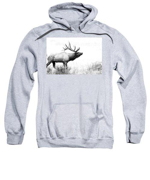 Bull Elk In Rut Sweatshirt