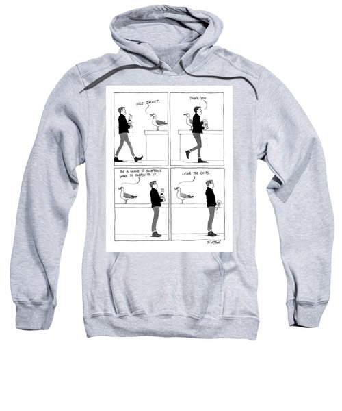 Bullying Bird Sweatshirt