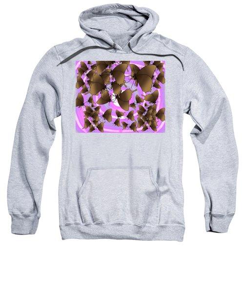 Butterfly Patterns 10 Sweatshirt