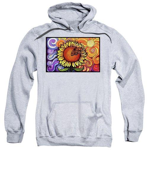 Butterfly Sunflower Sweatshirt