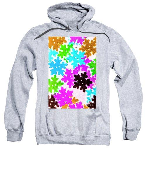 Button Blizzard Sweatshirt