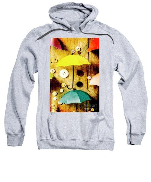Button Storm Sweatshirt