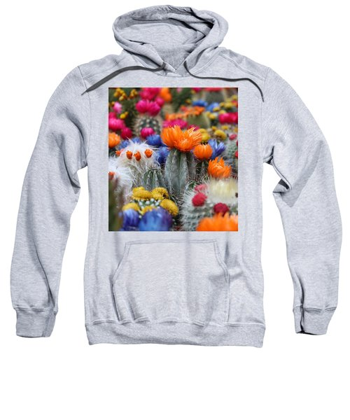 Cacti Flowers Sweatshirt