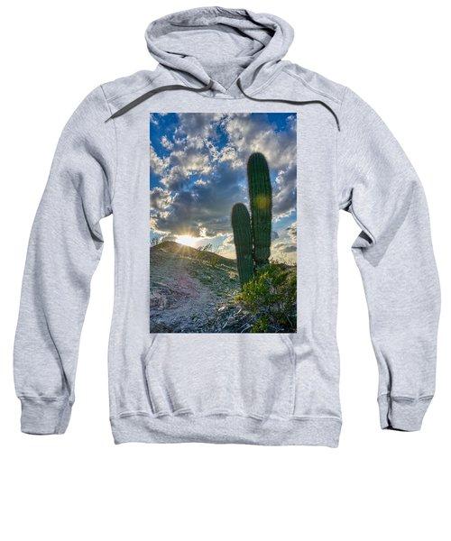 Cactus Portrait  Sweatshirt