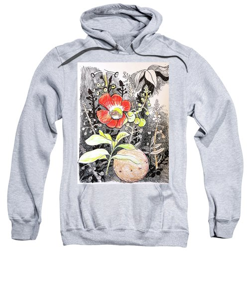 Cannonball Flower Botanical Sweatshirt