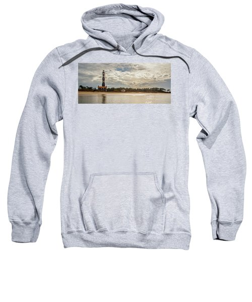 Cape Lookout Lighthouse No. 3 Sweatshirt