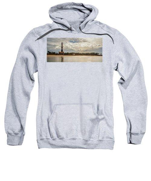 Cape Lookout Lighthouse No. 3 Sweatshirt