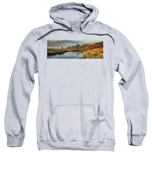Carson Valley Sunrise Panorama Sweatshirt