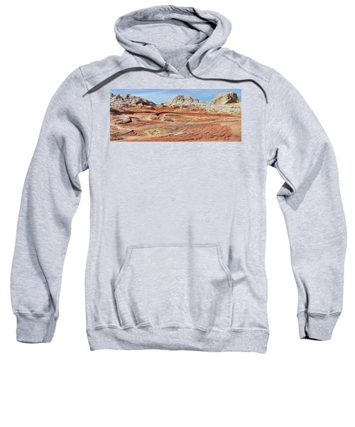 Carved In Stone Pano 2 Sweatshirt