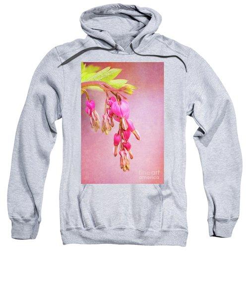 Cascading Bleeding Hearts Sweatshirt