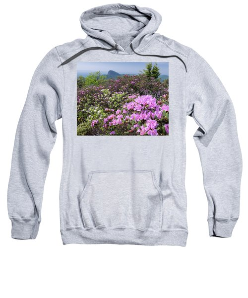 Catawba Rhododendron Table Rock  Sweatshirt