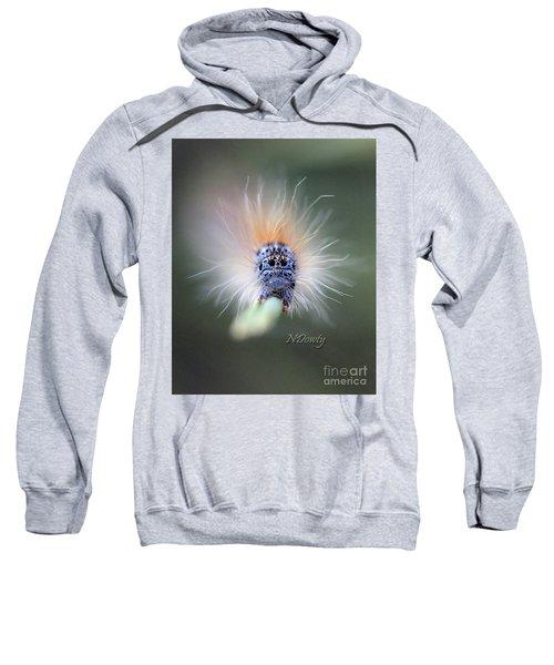 Caterpillar Face Sweatshirt