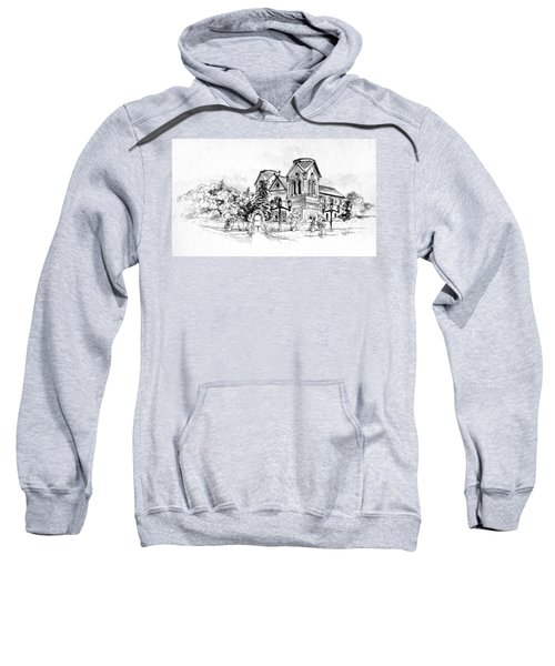 Cathedral Basilica Of St. Francis Of Assisi - Santa Fe, New Mexico Sweatshirt