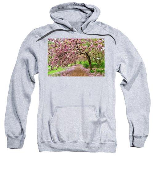 Central Park Cherry Blossoms Sweatshirt