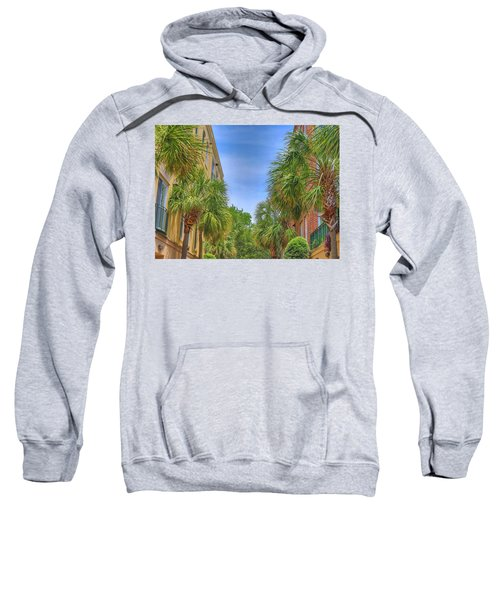 Charleston Palmetto Trees Sweatshirt