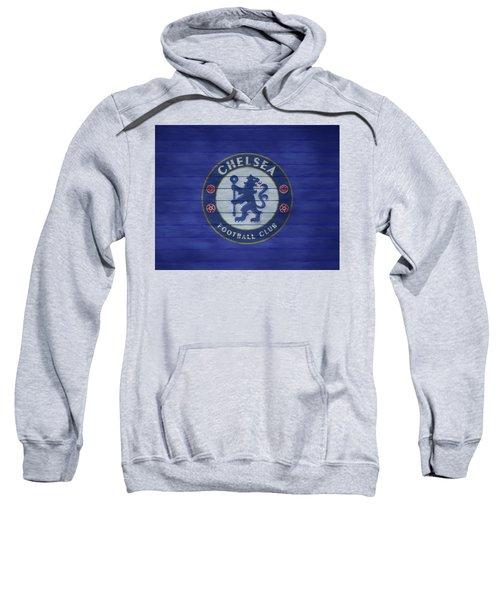 Chelsea Football Club Barn Door Sweatshirt