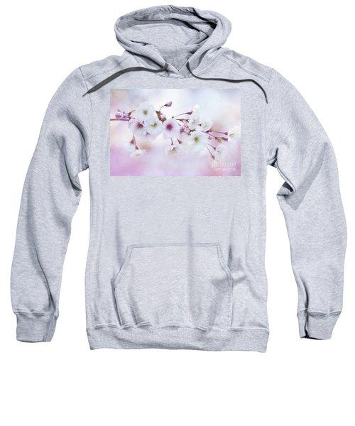 Cherry Blossoms In Pastel Pink Sweatshirt
