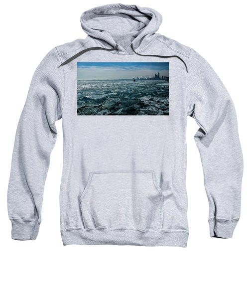 Chicago In Winter Sweatshirt