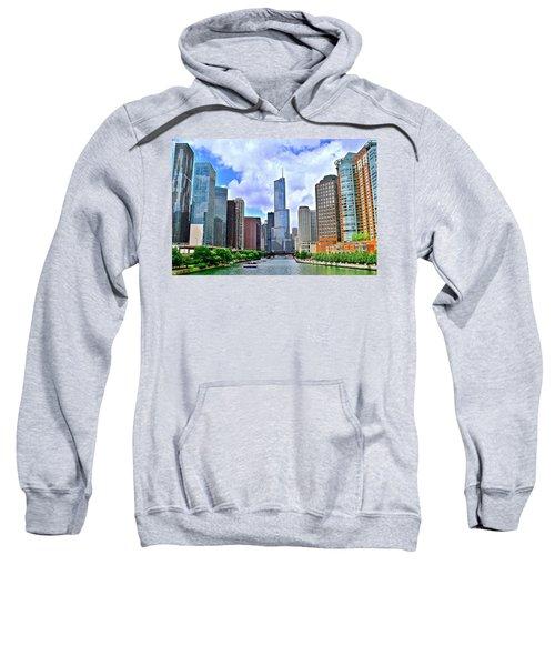 Chicago River View Sweatshirt