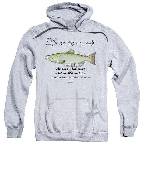 Chinook Salmon Disrupted Sweatshirt