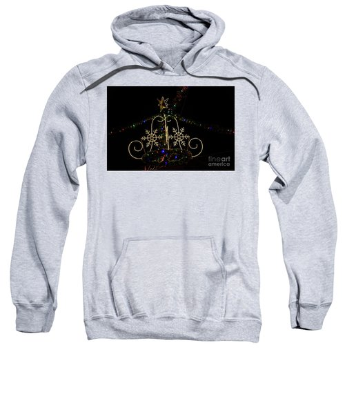 Christmas Lights At Night Sweatshirt