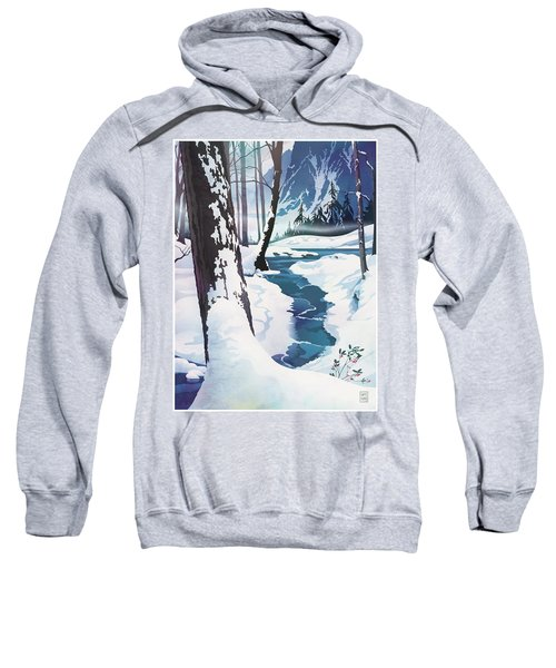 Morning At Christmas Creek Sweatshirt