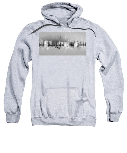 City In Black Sweatshirt
