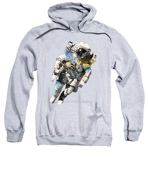 Clavius - Astronaut Alone In The Space Sweatshirt