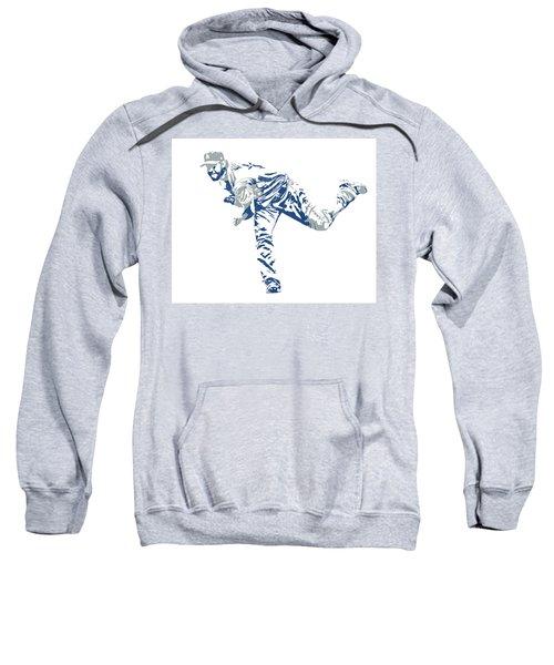 Clayton Kershaw Los Angeles Dodgers Pixel Art 31 Sweatshirt