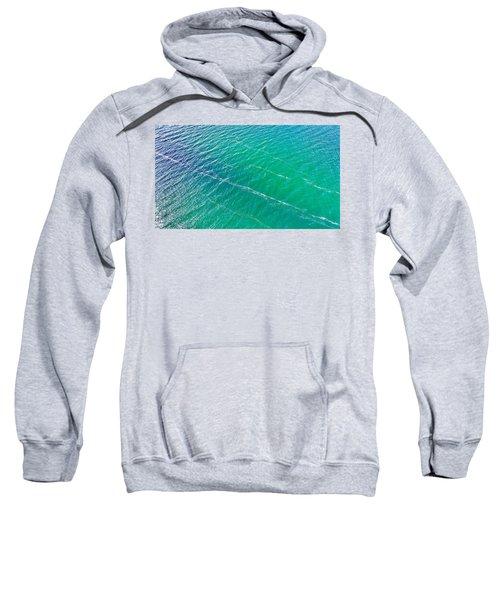 Clear Water Imagery  Sweatshirt