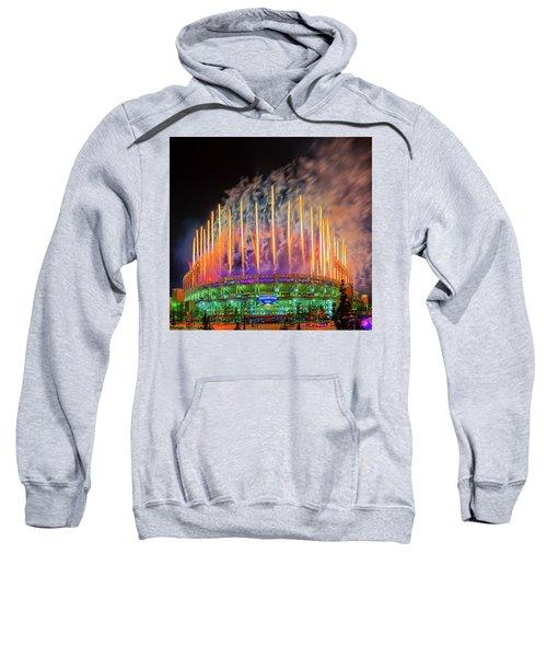 Cleveland Baseball Fireworks Awesome Sweatshirt