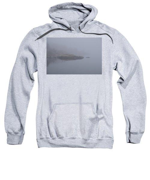 Cliffs In Fog Sweatshirt