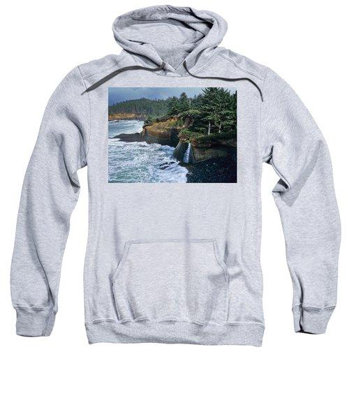 Cliffs Of Boiler Bay Sweatshirt