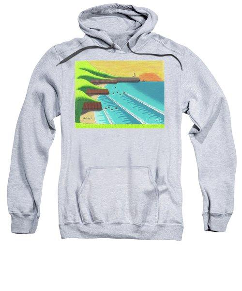 Cliffside Sunset  Sweatshirt