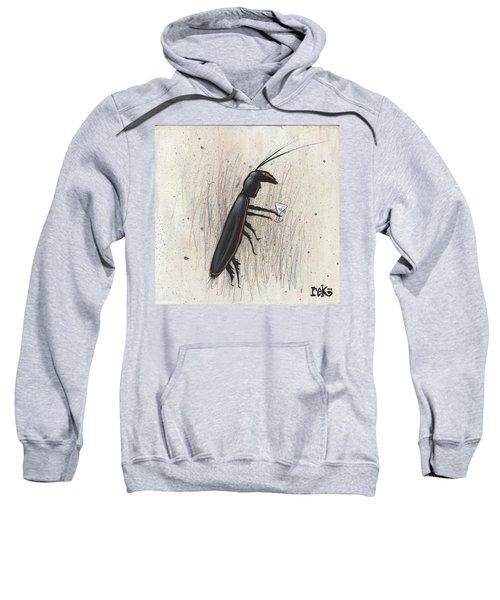 Cockroach With Martini Sweatshirt