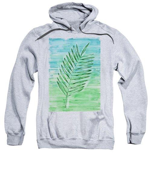 Coconut Leaf Sweatshirt