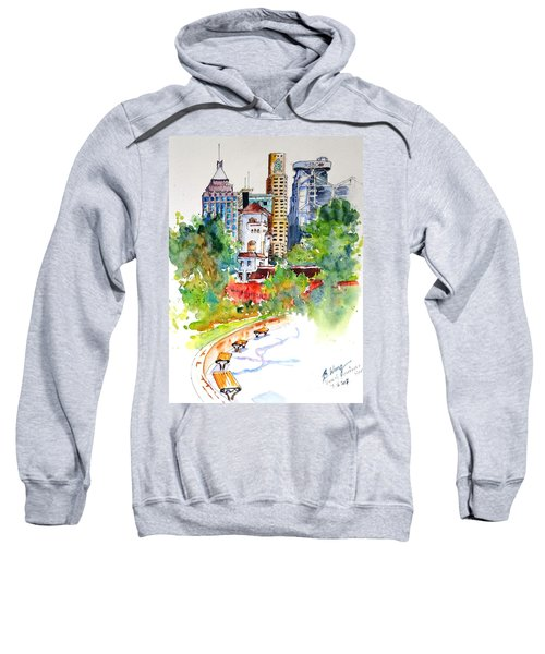 Colonial Vs The Modern In Hong Kong Sweatshirt