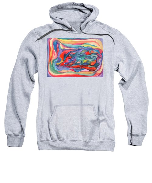 Colorful Abstract Palette Sweatshirt