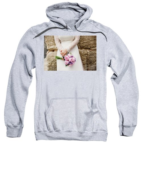 Colorful Bridal Bouquets With Flowers Sweatshirt