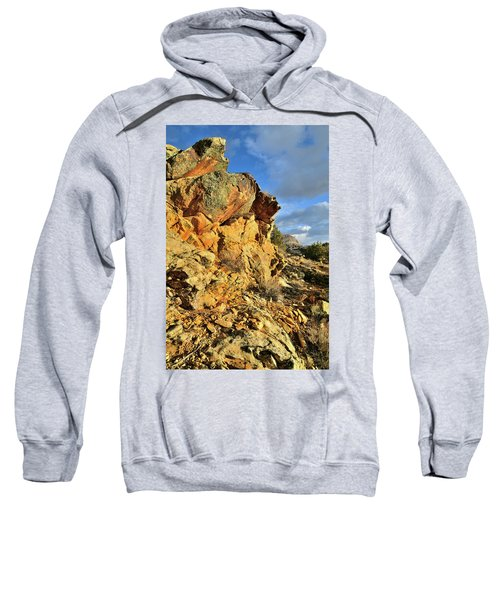 Colorful Crags In Colorado National Monument Sweatshirt