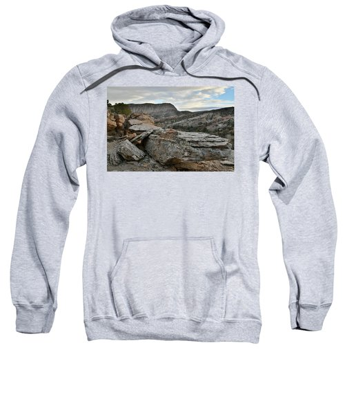 Colorful Overhang In Colorado National Monument Sweatshirt