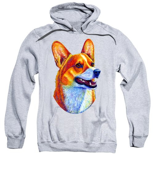 Colorful Pembroke Welsh Corgi Dog Sweatshirt