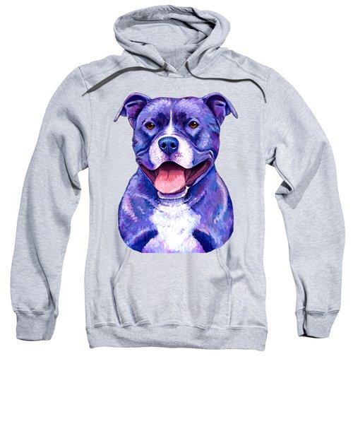 Colorful Pitbull Terrier Dog Sweatshirt