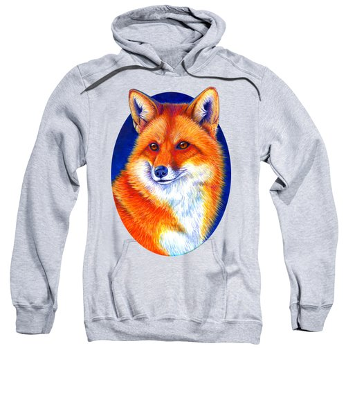 Colorful Red Fox Sweatshirt